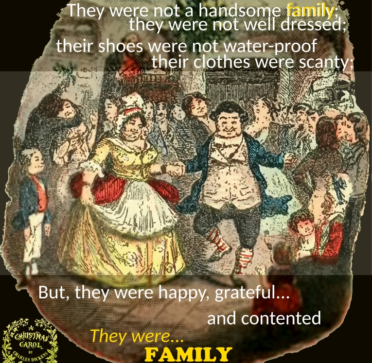 Christmas Carol Meme: They Were Not Rich, But They Were